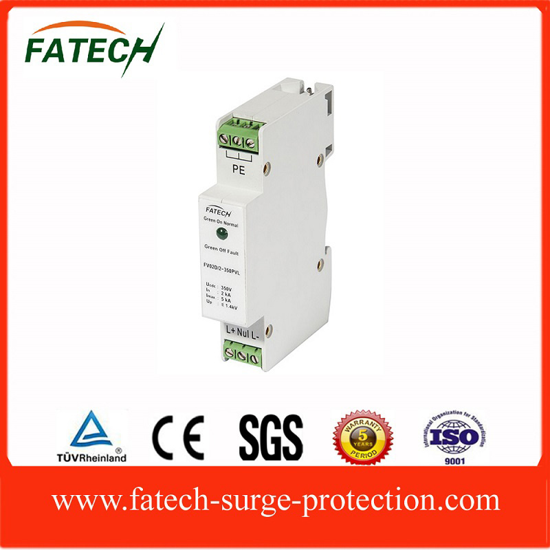 DIN Rail LED display Lightning Surge Protector