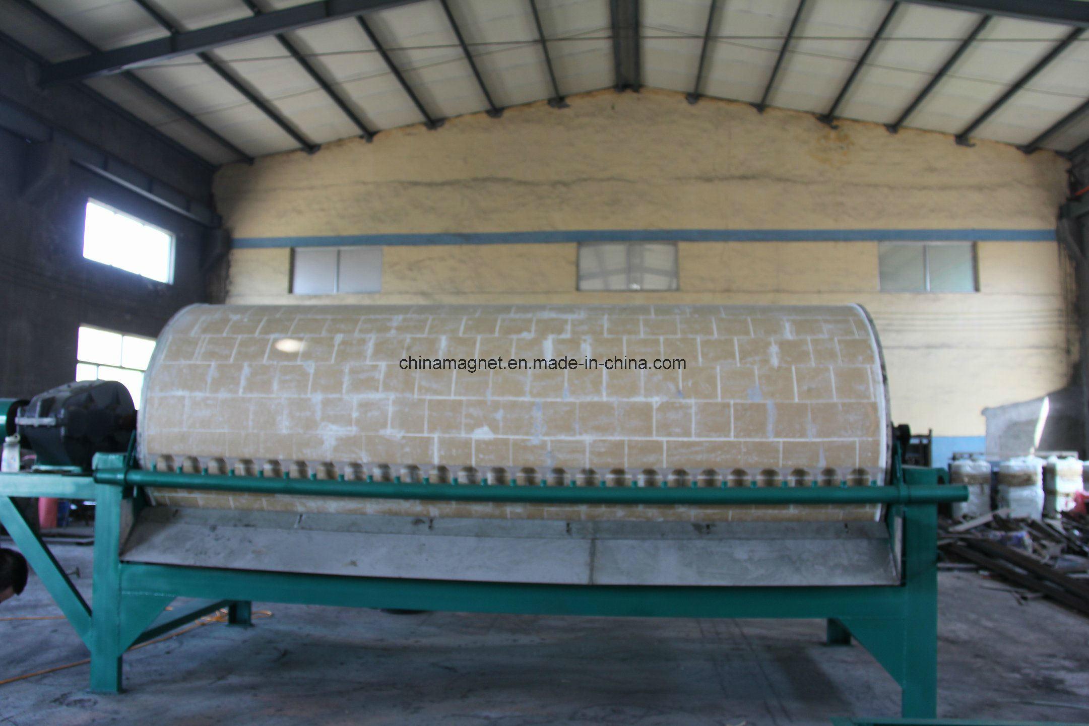 Automatic Sea River Sand Magnetic Separator Fot Iron Sea Sand Processing