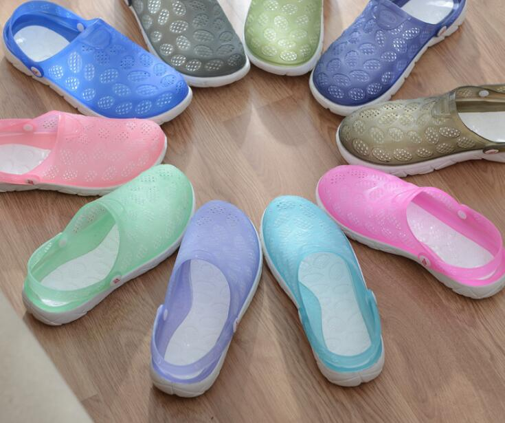Garden Shoes Unisex Casual Round Hole Hollow Shoes
