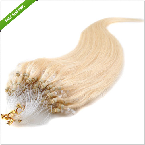 Mirco Loop Ring Hair Extensions Remy Human Hair