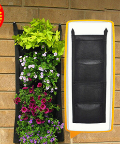 Pocket Planter Bag Manufacture Vertical Planting Bag