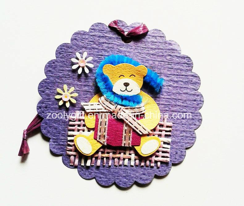 Printing Hanging Decorative Tag / Handmade Printed Animal DIY Paper Craft