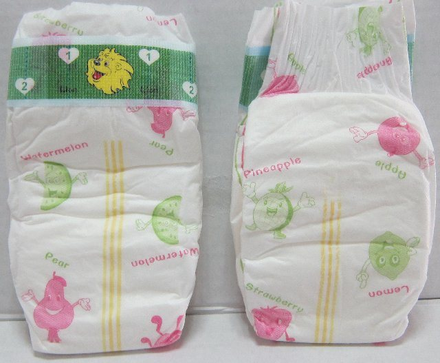 Grade a Disposable Happy Time Baby Diapers (A4)
