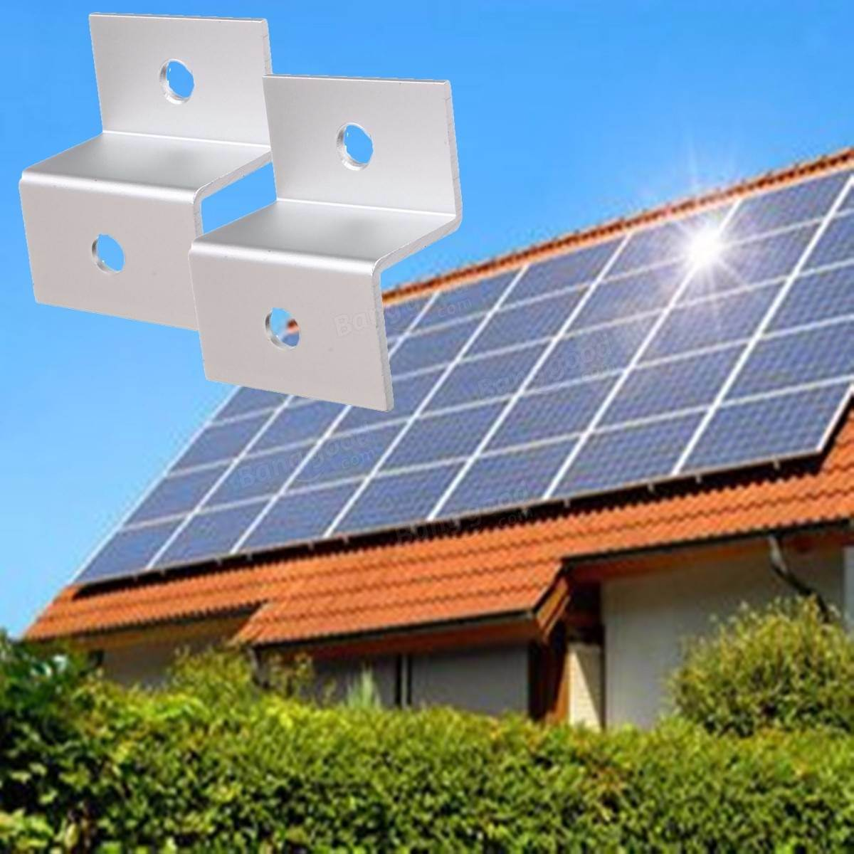 Solar Panels Roof Mounting Brackets with Factory Supply