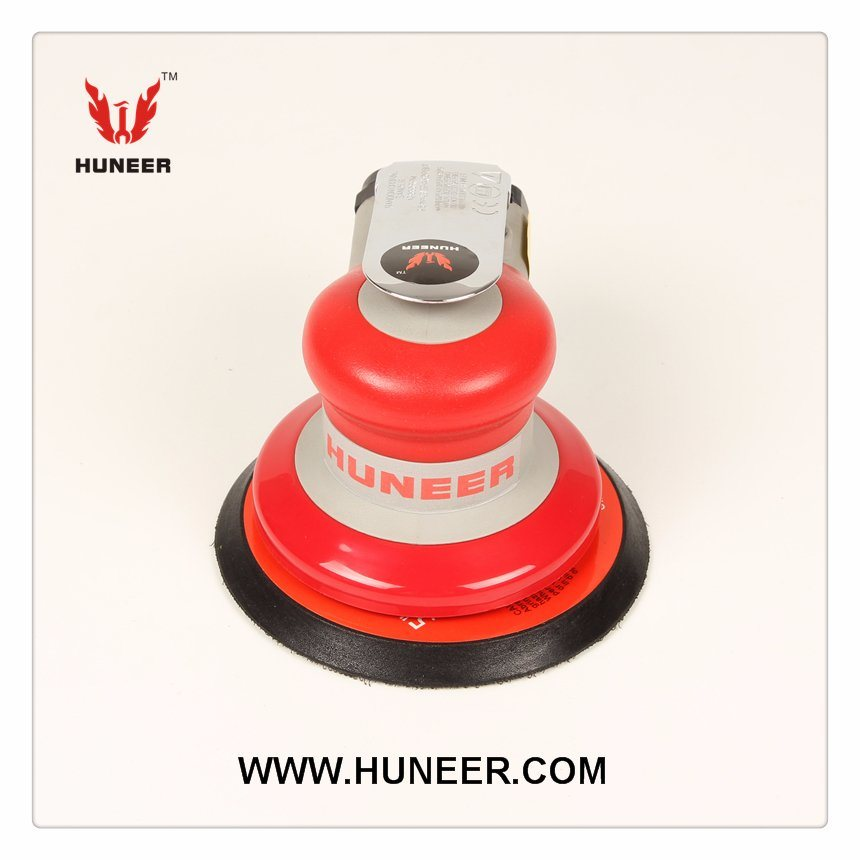 Industrial Non-Vacuum Orbital Air Sander with 5 Inch Pad in Pneumatic Tools