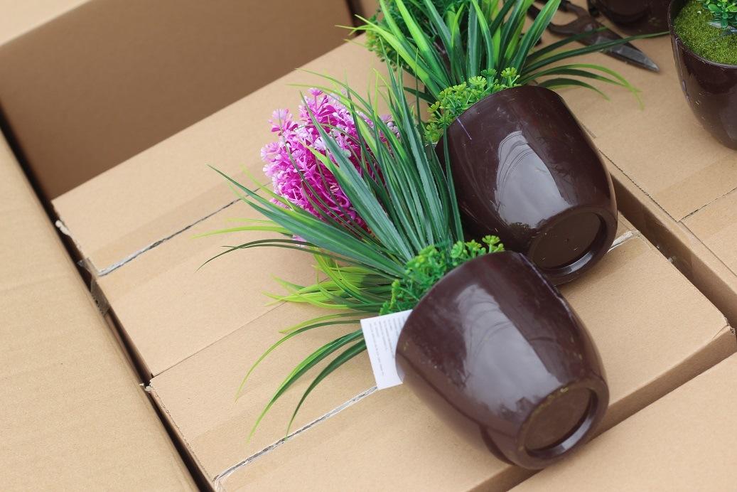 Artificial Plastic Plants and Flowers of Small Bonsai Plants Gu201708
