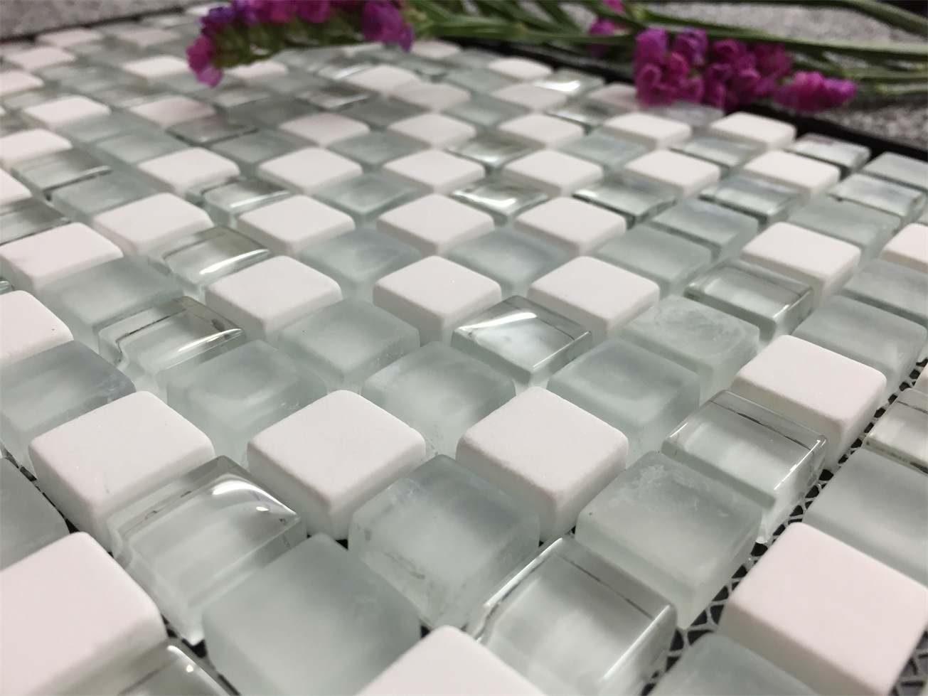 Concise Fashion for Glass and Stone Mosaic Wall & Floor Tile