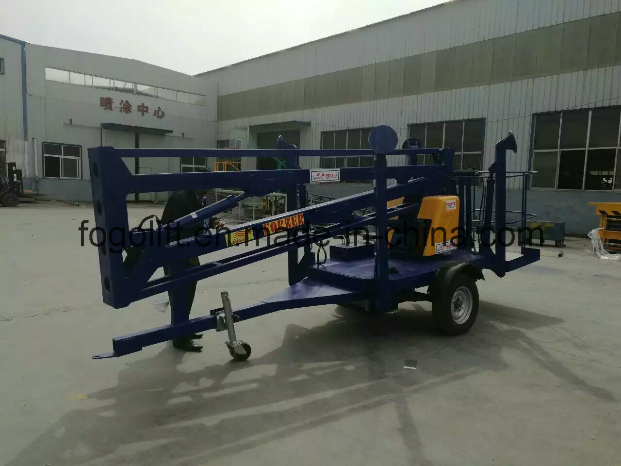 Lowest Price Self Propelled Mobile Hydraulic Articulated Boom Man Lifts for Sale