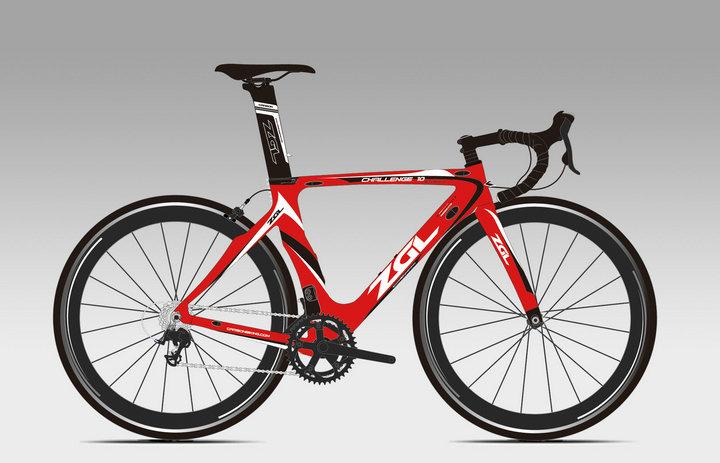 Baisheng Carbon Fiber High Strength Carbon Fiber Bicycle