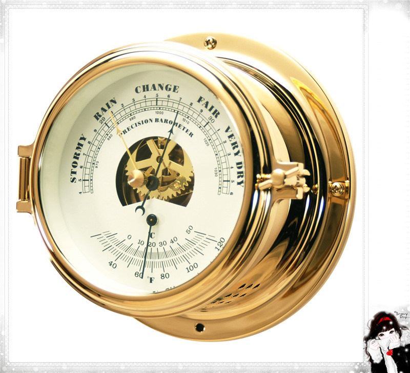 Barometer with Bimetal Thermometer Dial 1150mm