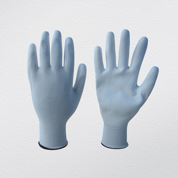 13G PU Coated Safety Work Gloves (5537)