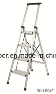 Aluminum Step Ladder Soft Closing Telescopic Ladder (EL-001A)