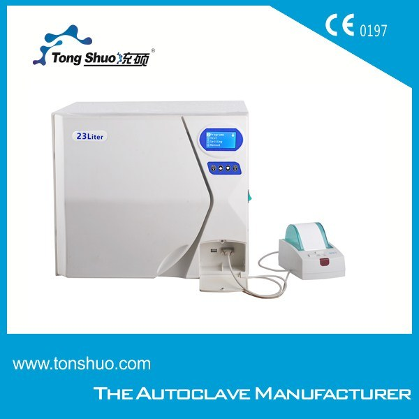 Table Top 17l Pre-Vacuum High Pressure Steam Autoclave