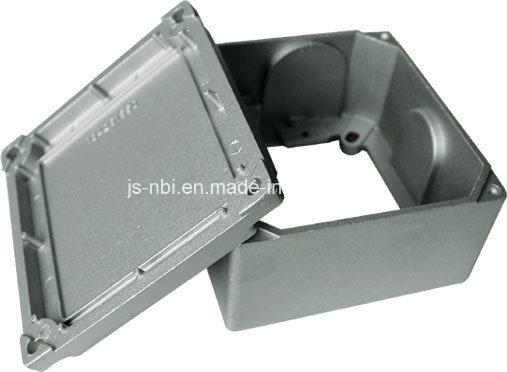 Aluminum High Pressure Casting Junction Box with Bead Blasting
