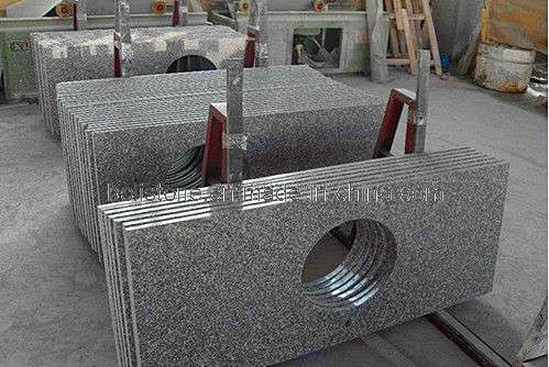 Light Gray Granite Vanity Top : China Grey Granite Vanity Tops / Grey Countertop - China Grey Granite Vanity Tops, Grey Countertop