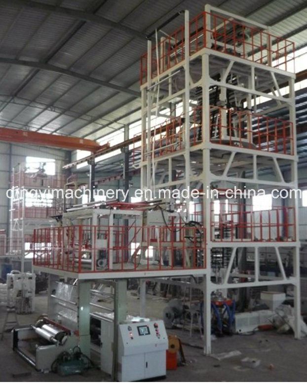 Multi-Layer Co-Extrusion Blown Film Blowing Machine