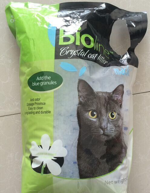 Crystal Silica Gel Cat Litter