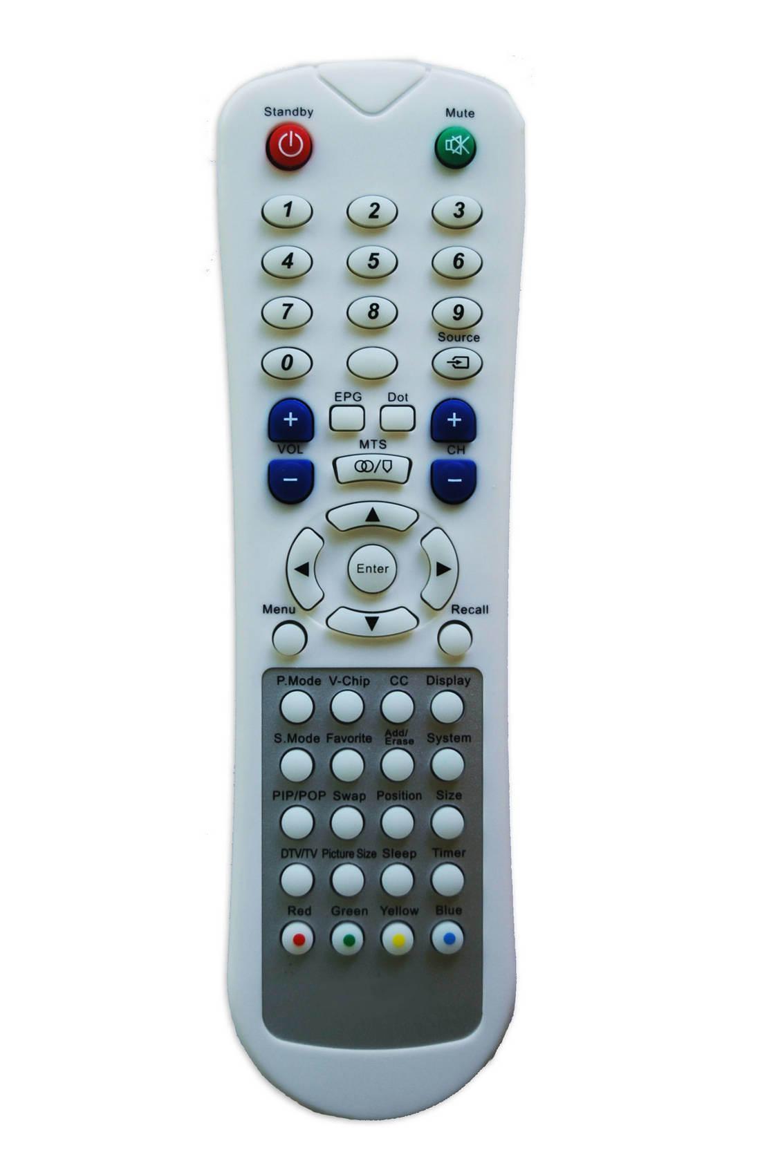 Universal Remote Control (KT-208 White)