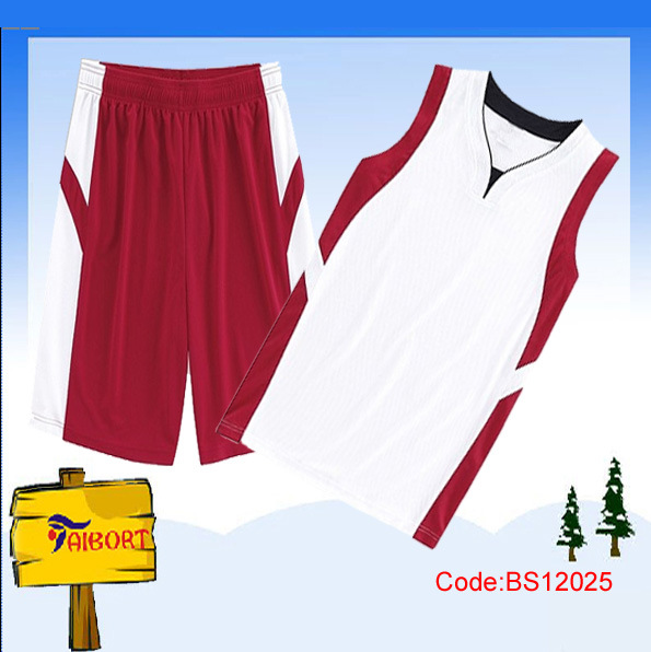 Cheap Reversible Basketball Jerseys with Printing (BS12025) Photos