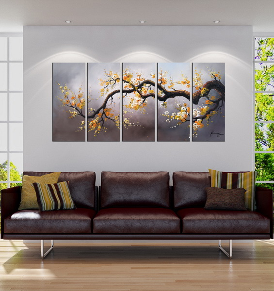 China Hot Sale Modern Art Paintings For Living Room