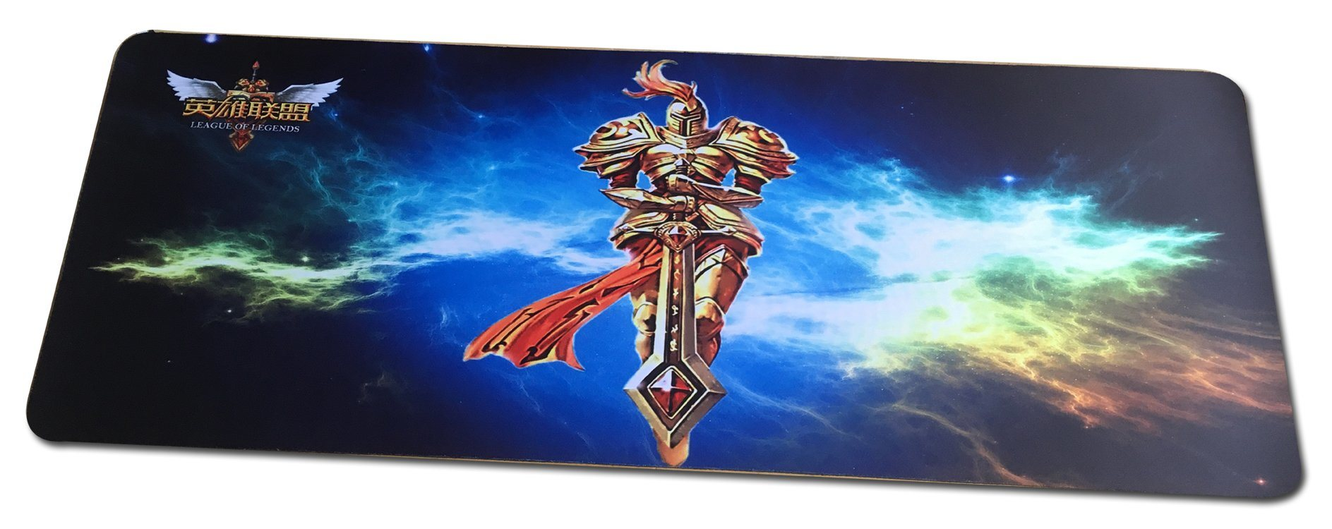 Stitched Edges Rubber Gaming Mouse Pad With Printing Customer Logo