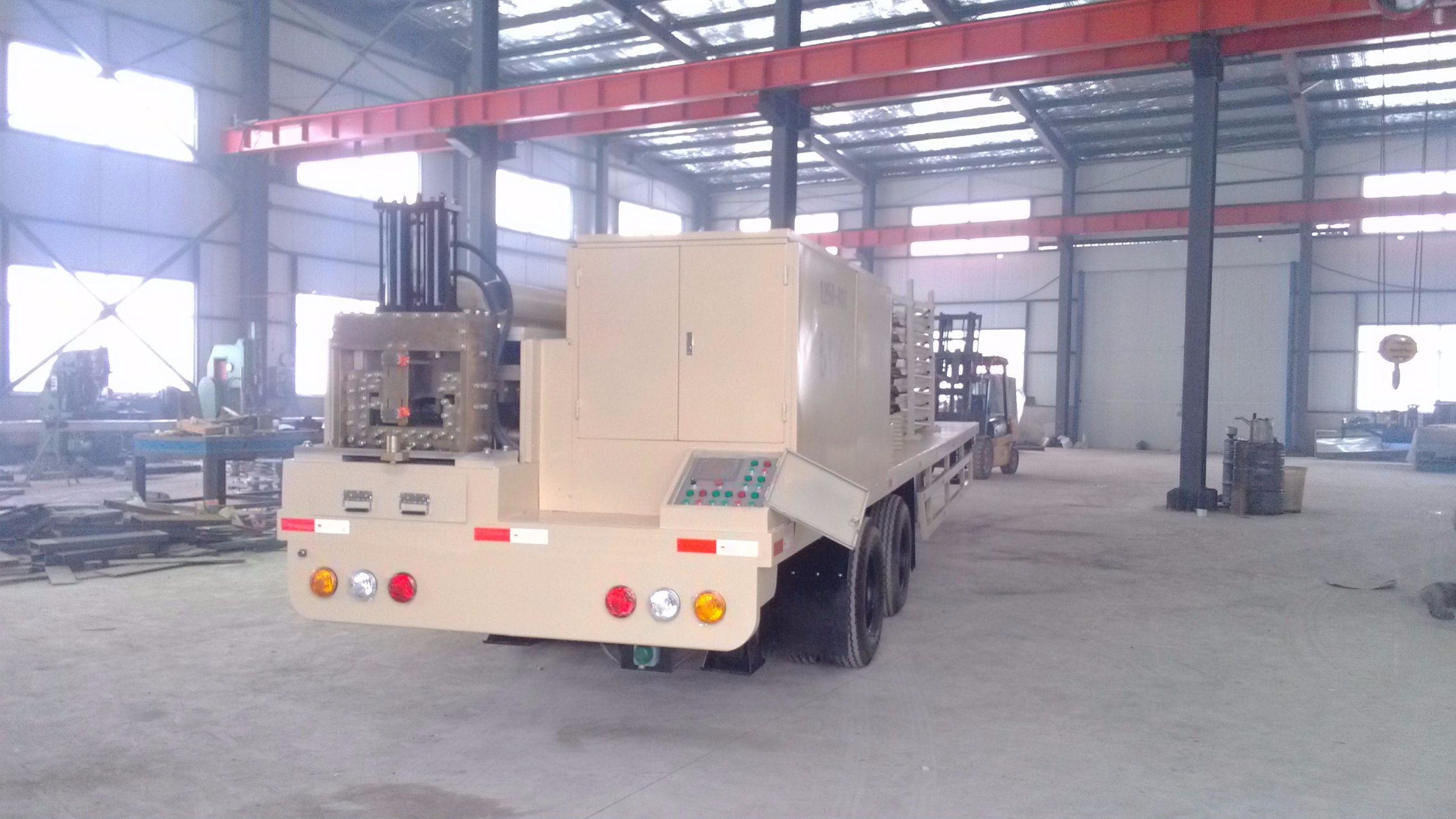 Ls-120 K Type Arch Roof Building Machine /Ultimate Building Machine