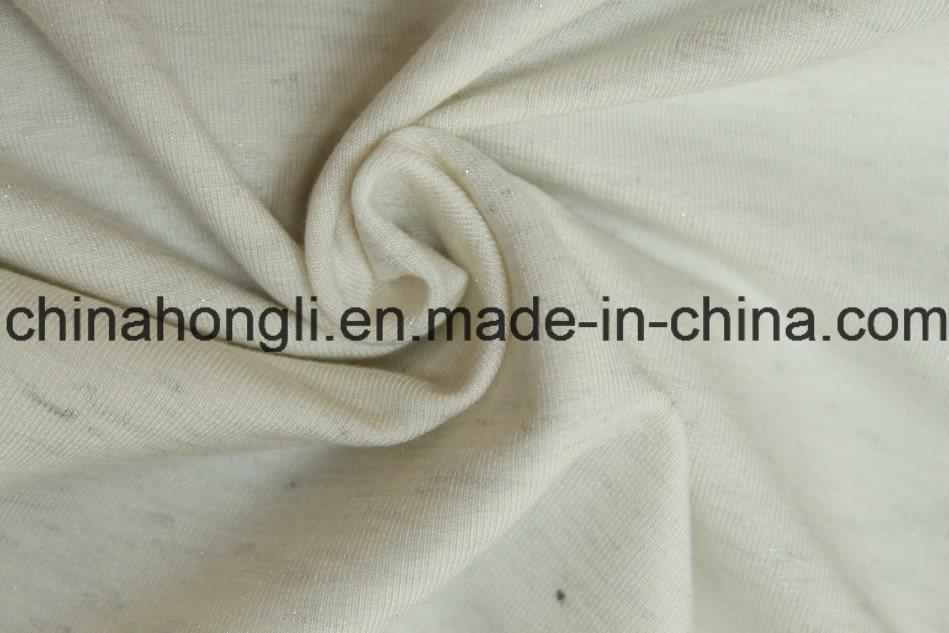 R Bright Silver Terry Cloth