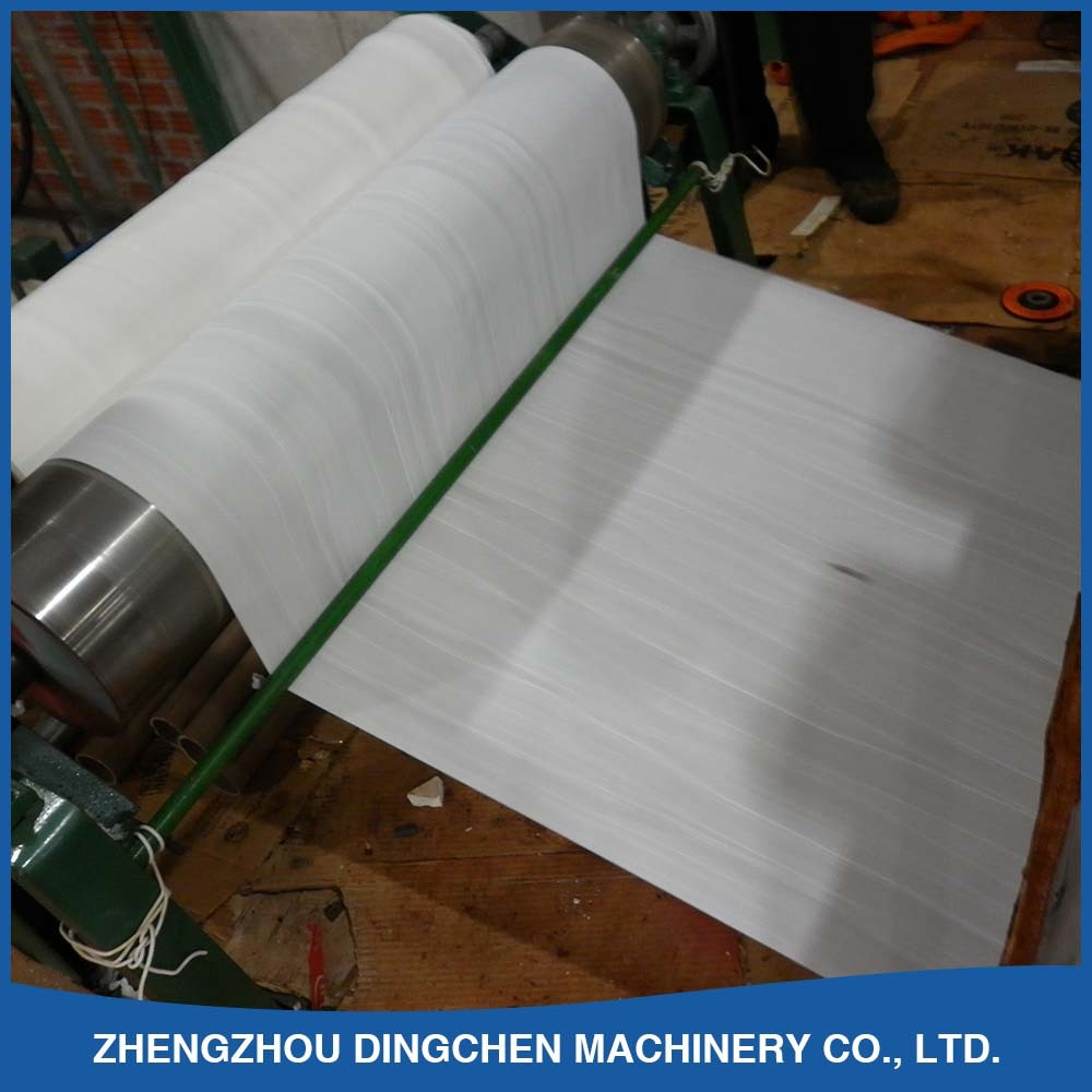 Toilet Paper Production Line by Recycling White Shavings, Waste Newspaper etc