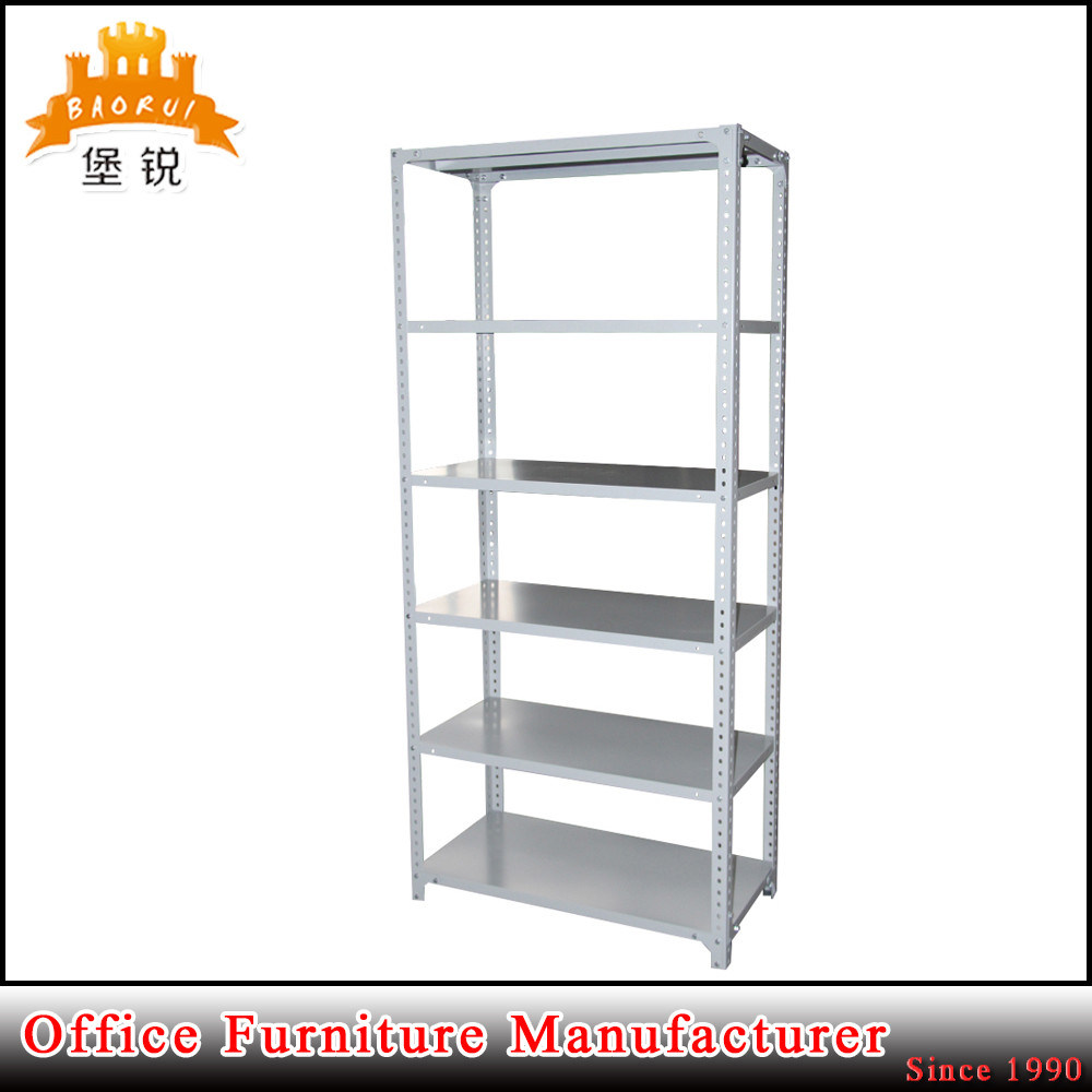 5 Layer Steel Goods Storage Rack Metal Supermarket Display Shelf