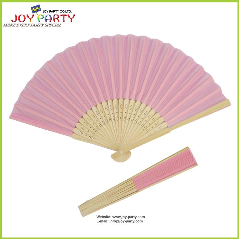 Silk Hand Fan DIY Promotion Party Favor