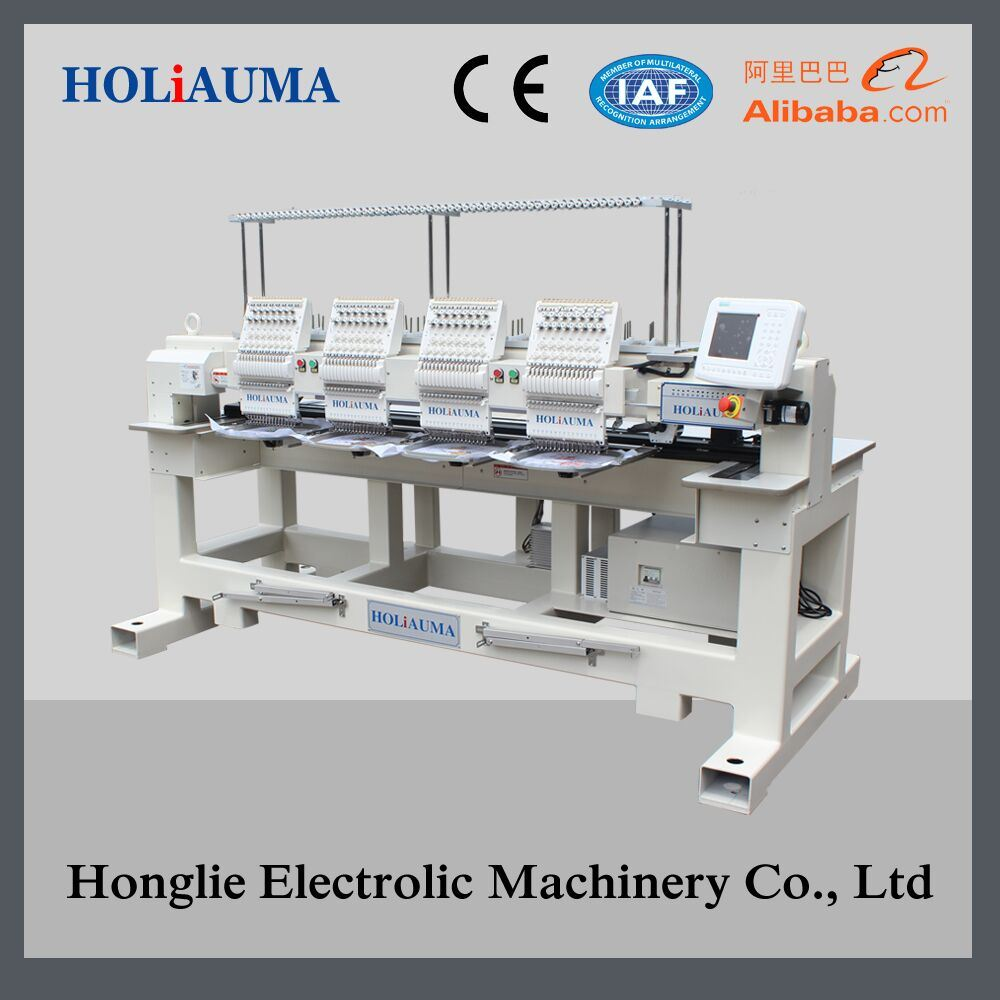 Holiauma 4 Head Cap /Tubular Embroidery Machine
