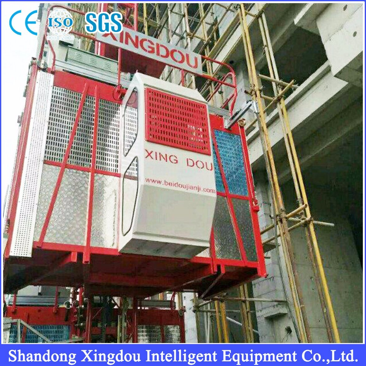 Sc Series China Supplier Elevator/Lift/Rack and Pinion