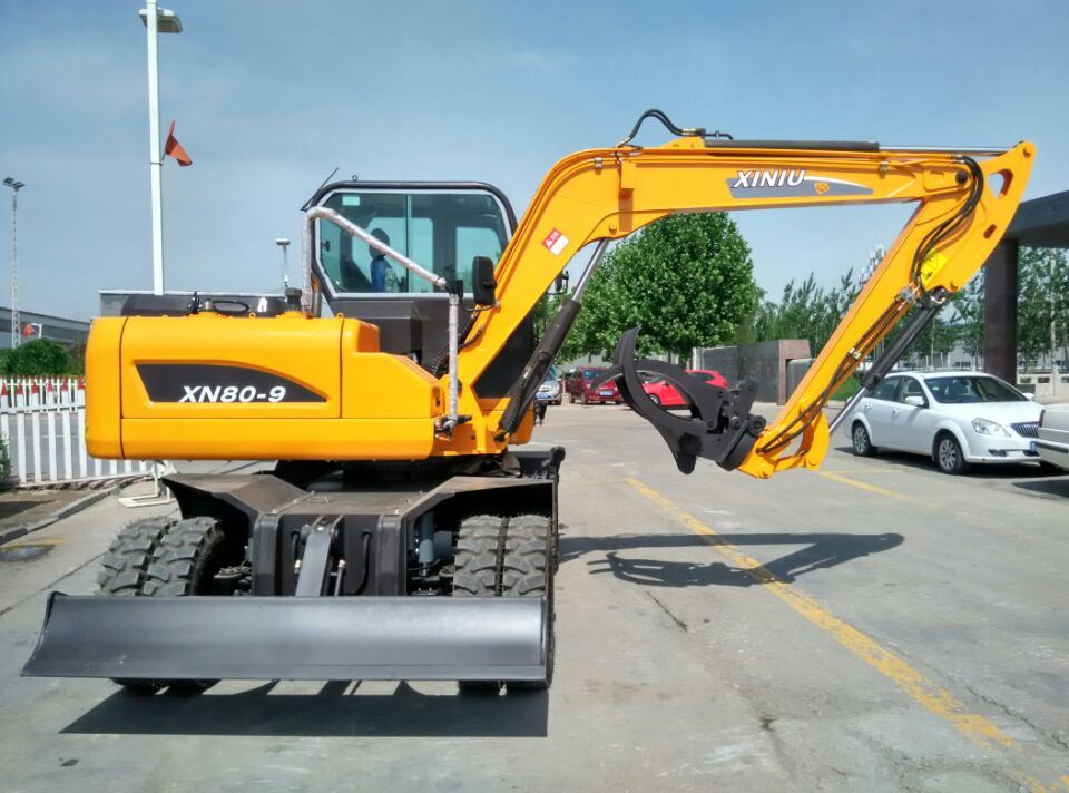 Excavator Hydraulic Cheap Wheel Excavator USD 25000