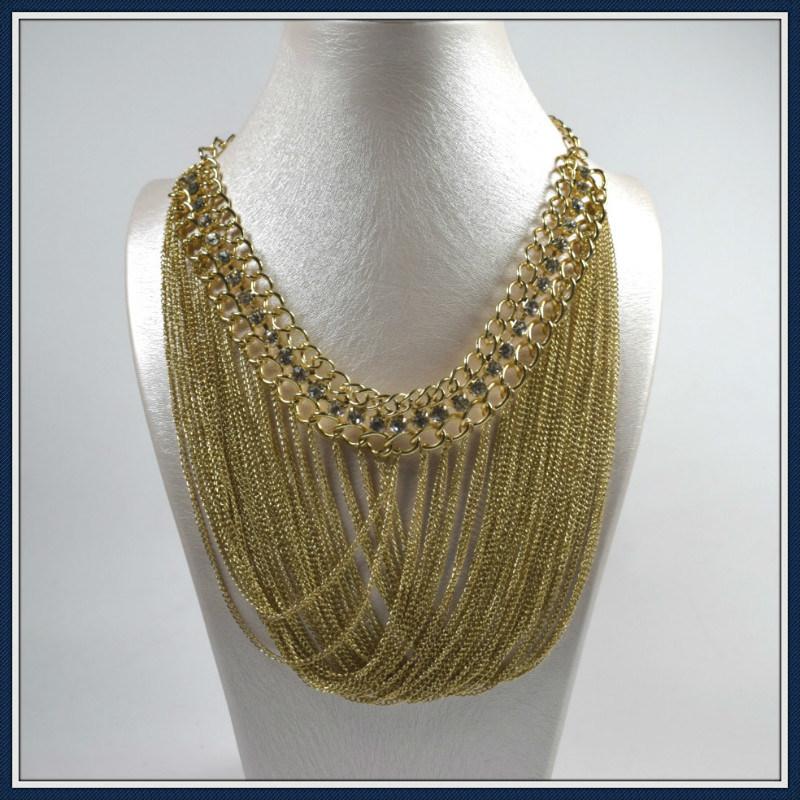 New Item Design Steel Wire Tassel Necklace Fashion Jewellery