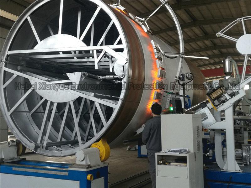 Large Diameter Krah Pipe Production Line