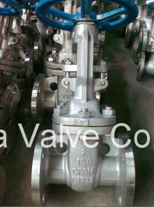 API Stainless Steel Flange Gate Valve