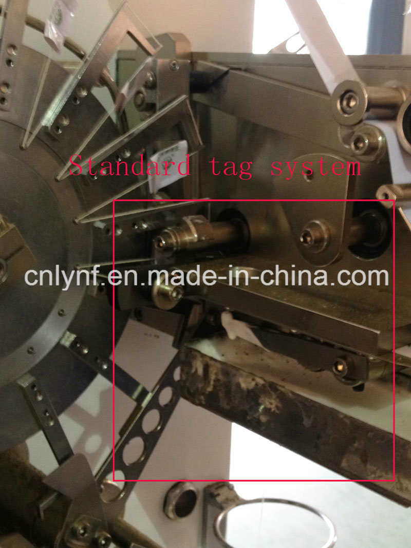 Heat Sealed Tag No Glue Option for Tea Bag Packing Machine