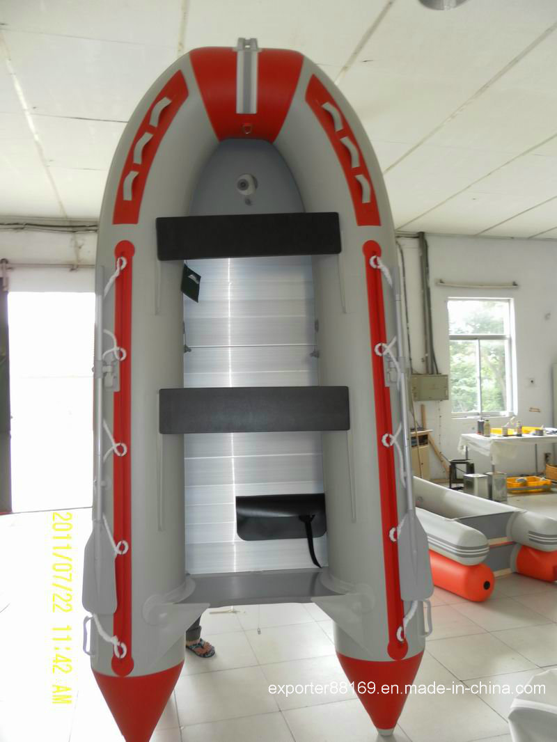 Inflatable Boat with Aluminum Floor (CE)