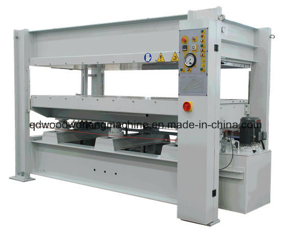 Woodworking Short Cycle Melamine Laminating Particle Board Hot Press Machine