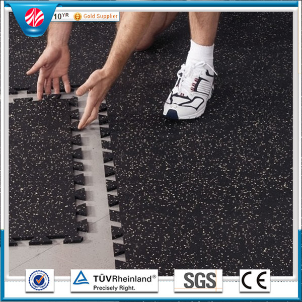 Gym Flooring Mat/Gymnasium Flooring/Gym Rubber Tile