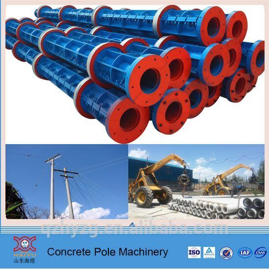Power Transmission Concrete Pole Machine