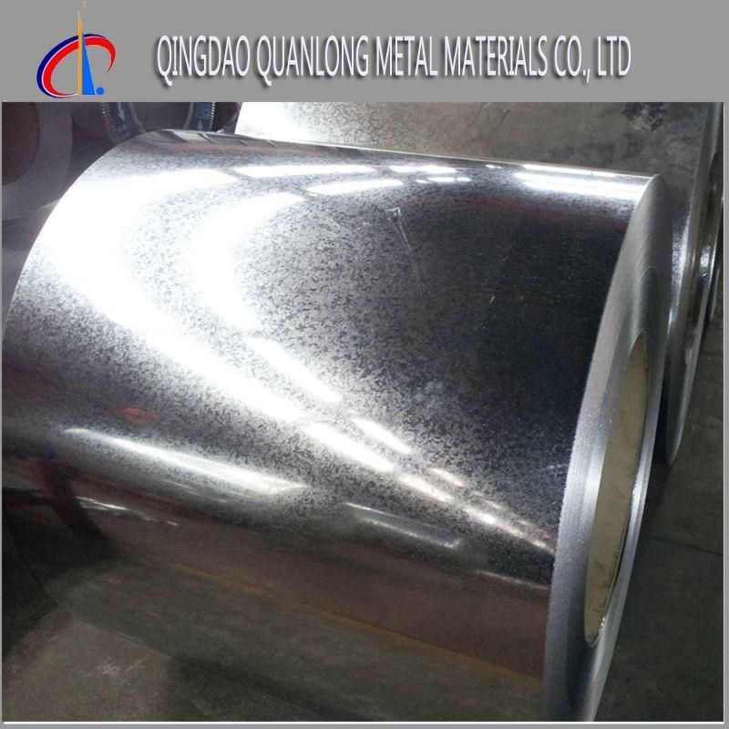Zinc Coated Metal Gi Galvanized Steel Coil