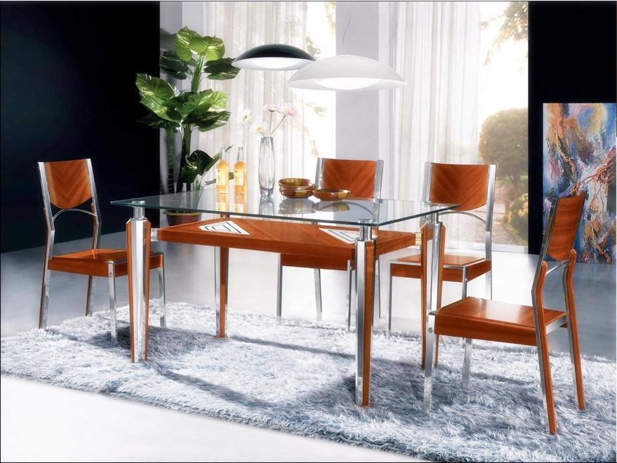 China wood and metal dining furniture ct cy