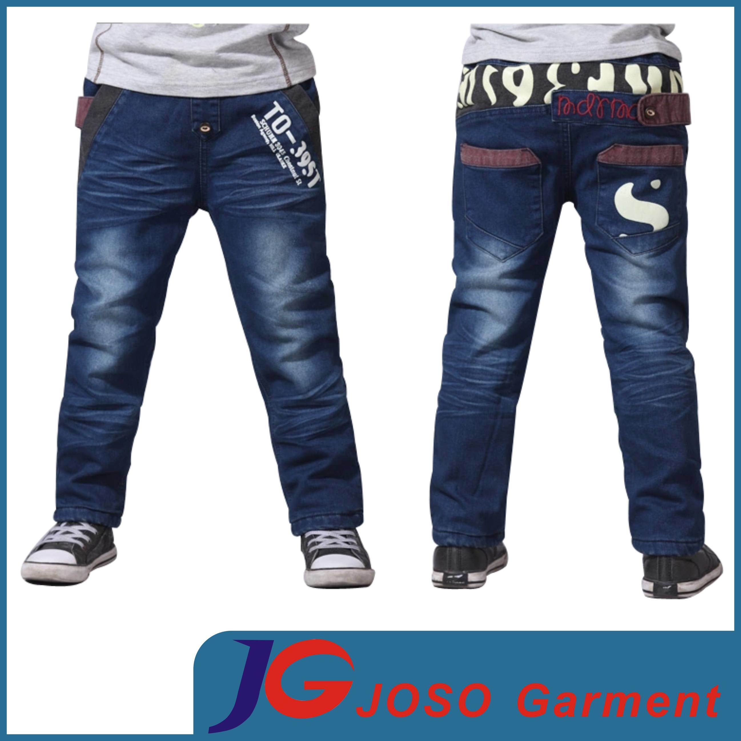 China Kids Boys Designer Denim Jeans (JC8025) - China Boy Jeans ...