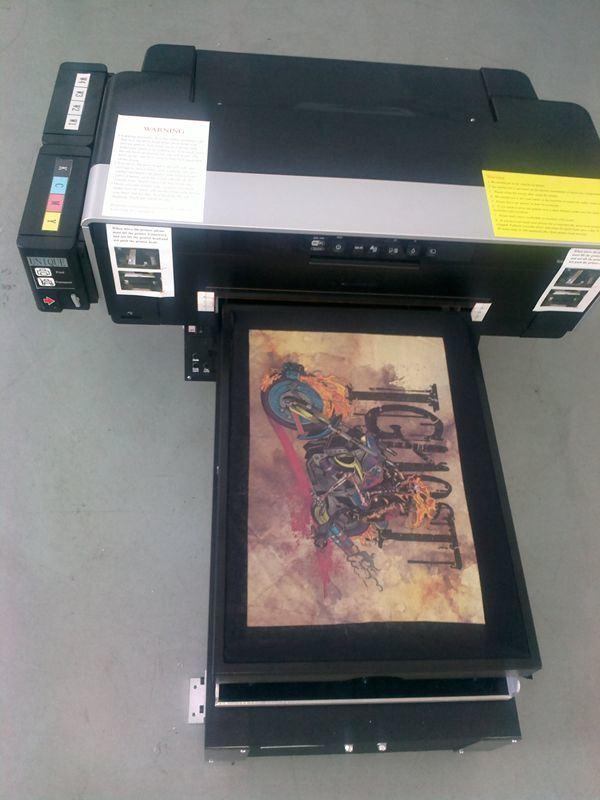 T shirt digital printer for T shirt digital printer