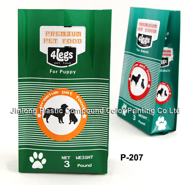 Custom Heavy Duty Pet Food Packaging Bag