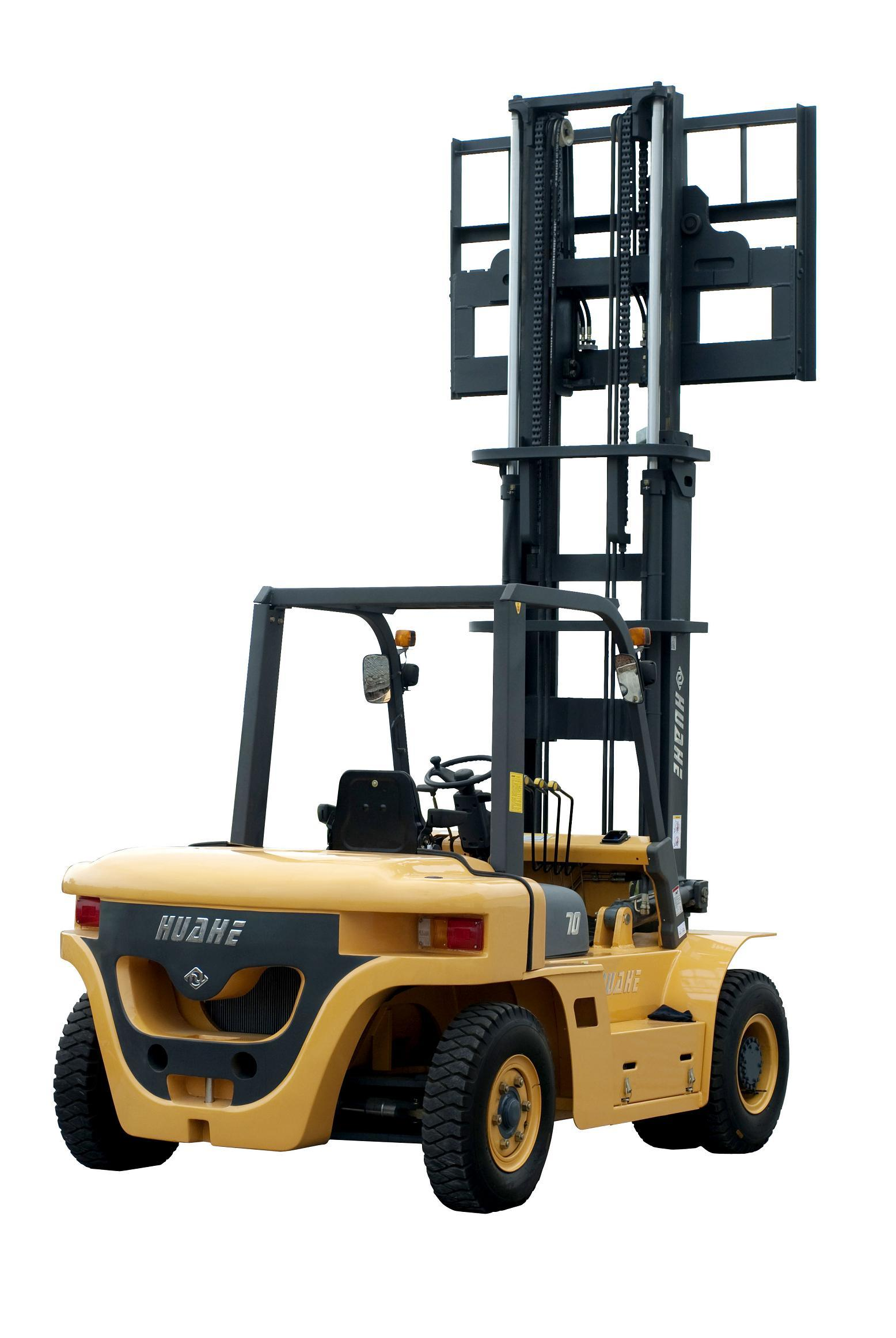 6.0t Diesel Forklift with 6meter Mast Height