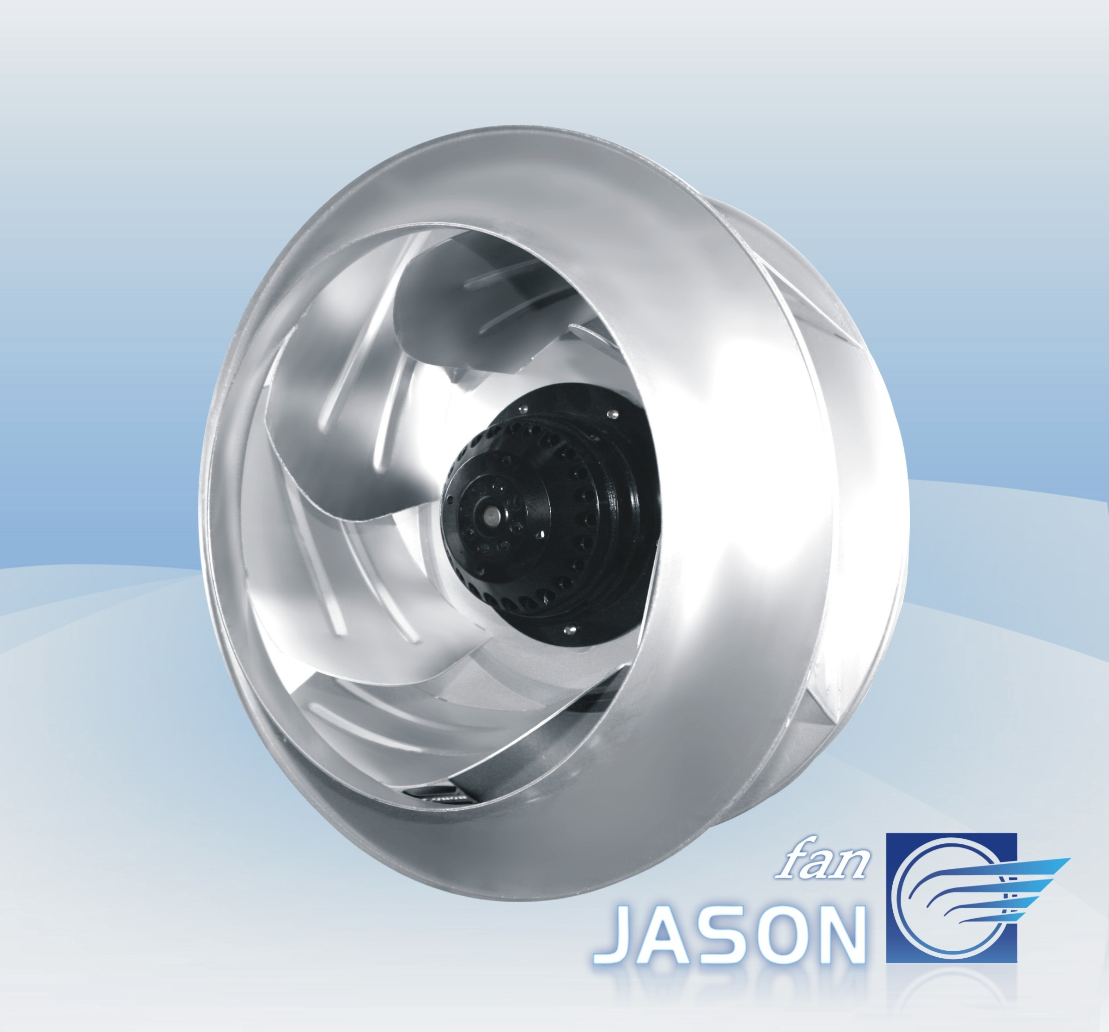 Centrifugal Fan Blades : China thermal protected metal blade centrifugal fan fjc e