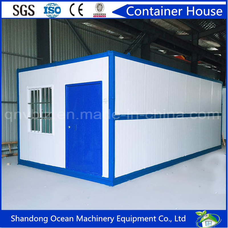 Easily Movable Fast Assbly Modular Container House Office Container of Sectional Steel Frame and Sandwich Panels