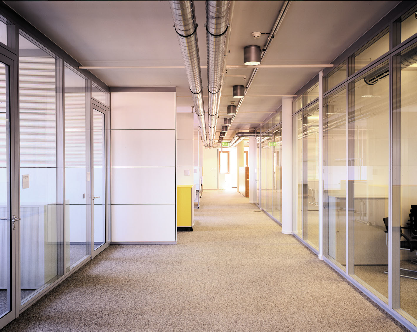 glass wall in the office systems price walls